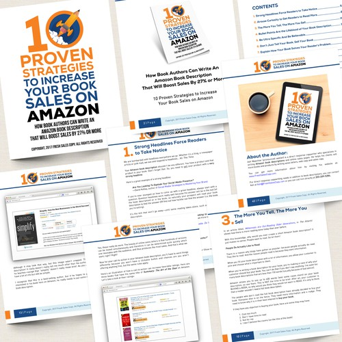 10 Proven Strategies to Increase Your Book Sales on Amazon by. Ash Waechter - FreshSalesCopy.com