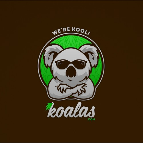 Koala mascot logo