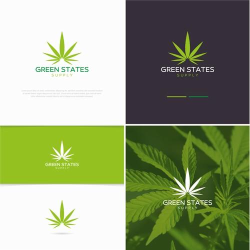 Conceito de logo para Green States