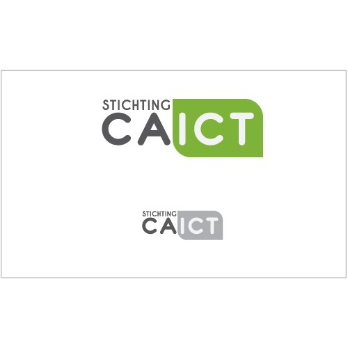 Create a simple, serious, mature logo for CA-ICT