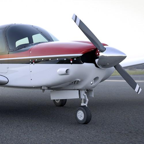 Piper Cherokee Plane Paint Design