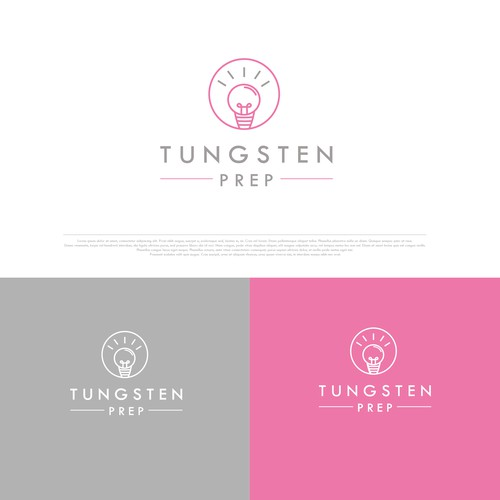 Minimalistic logo for a tutoring company