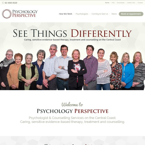 New website for our psychology practice - help us help others.