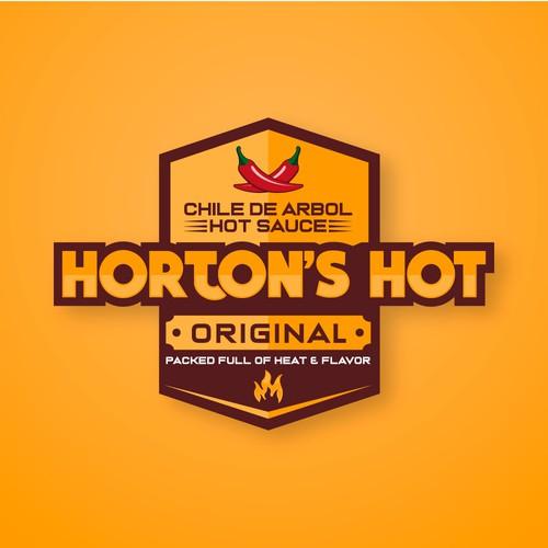 Horton's Hot Logo