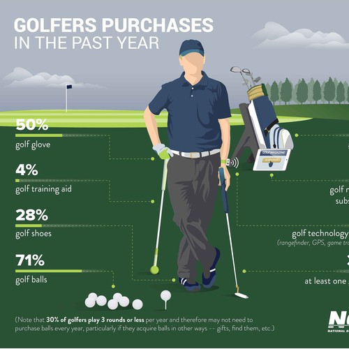 Golf Snapshot Infographic
