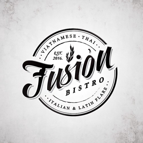 Fusion Restaurant Logo