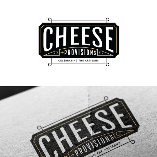 another retro cheese label