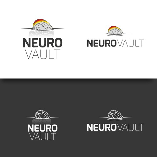 Create a logo for an academic project about the human brain!