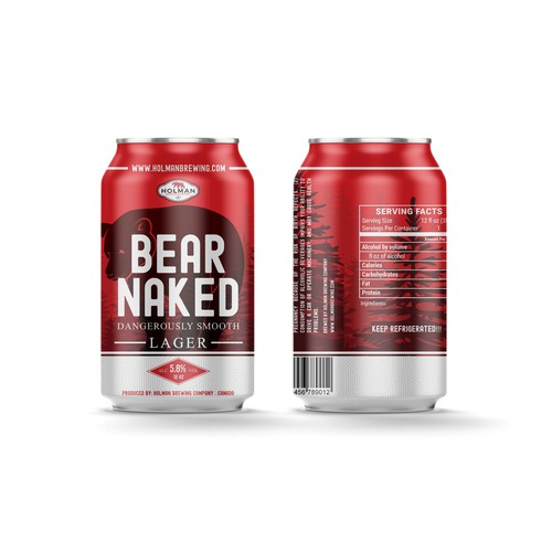 Packaging design for beer company