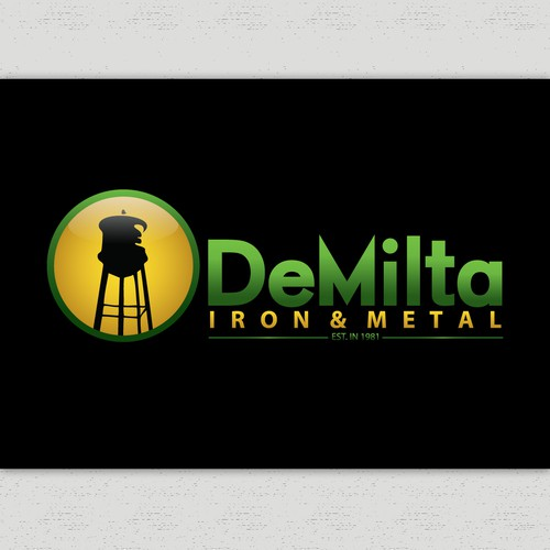 logo for DeMilta Iron & Metal