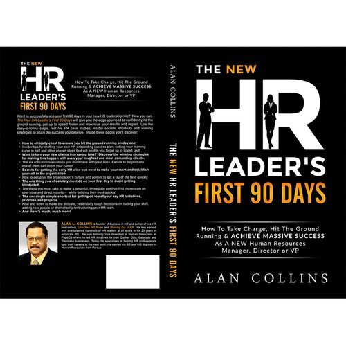 Book cover for a business HR book