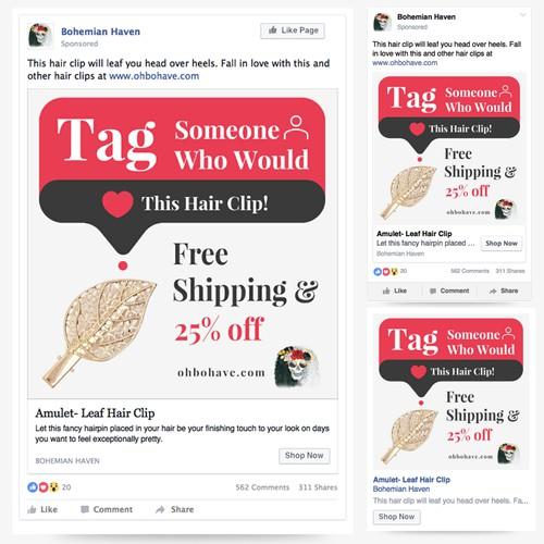 哦,Bohave Facebook广告