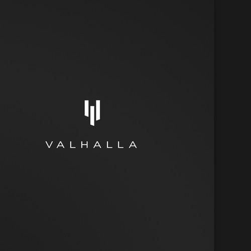 Minimalist mark for Viking-themed male skin care brand