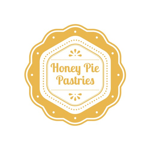 honey pie pastries logo