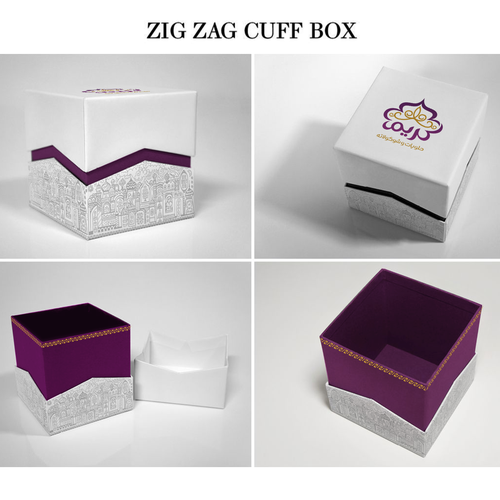Cake and chocolate packaging design