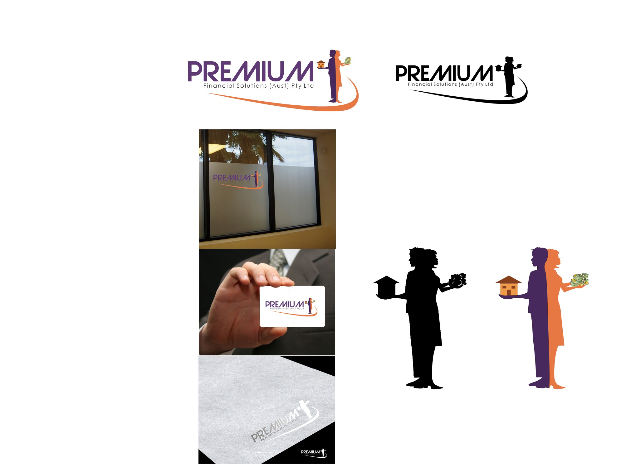 Help Premium Financial Solutions (Aust) Pty Ltd with a new logo