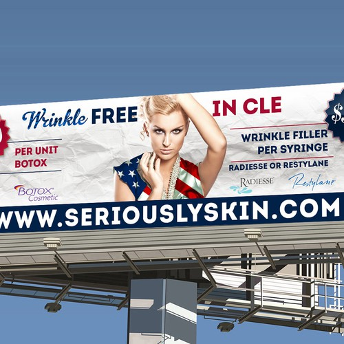 Billboard For Seriously Skin