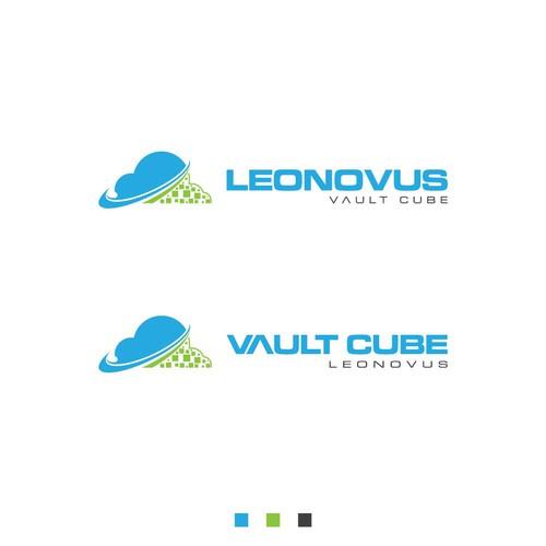 Leonovus Vault Cube Logo Concept