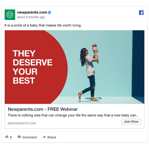 Newparents.com Facebook Ad