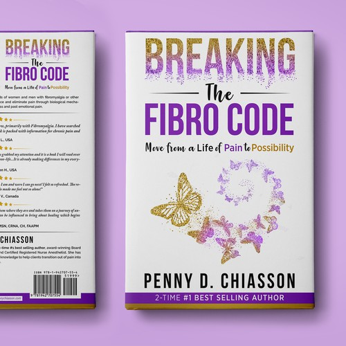Create an inspiring cover for Fibromyalgia relief