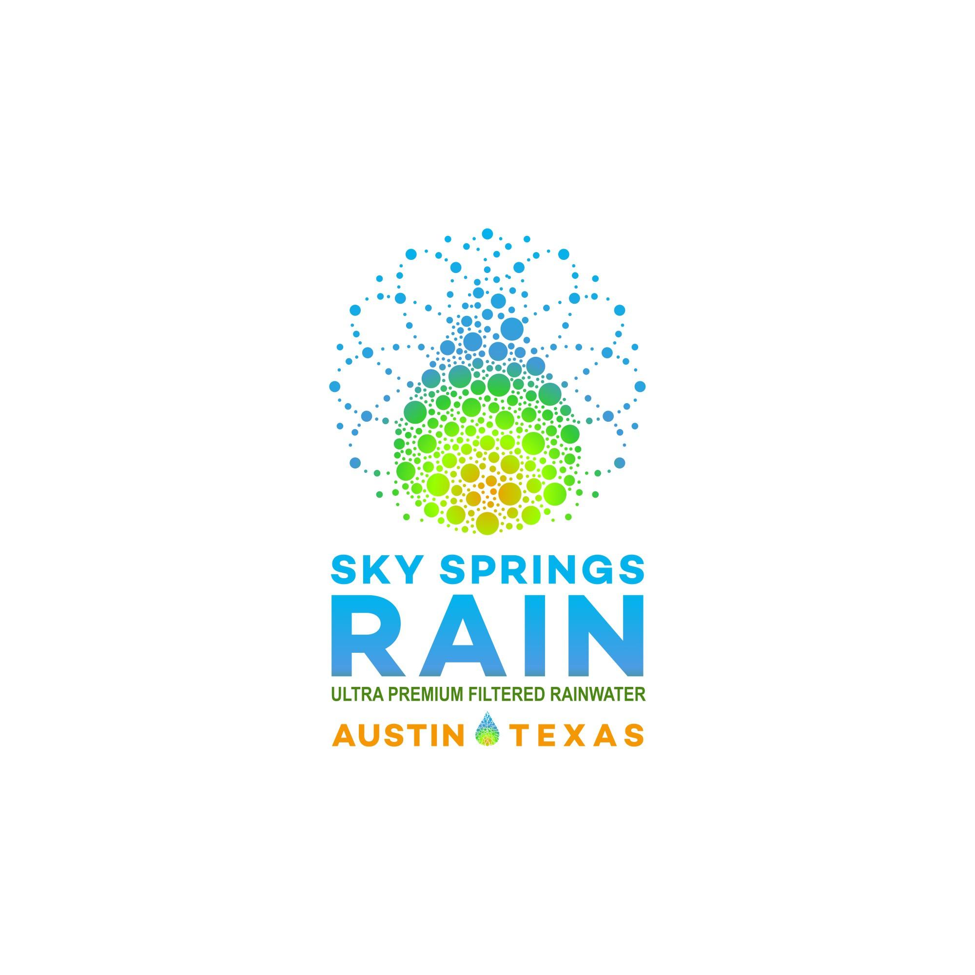 """""""Design premium logo for Sky Springs Rain - naturally purest bottled rainwater"""""""