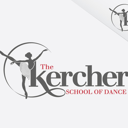 New logo wanted for THE KERCHER SCHOOL OF DANCE (Don't be put off by the title - Make it look good)