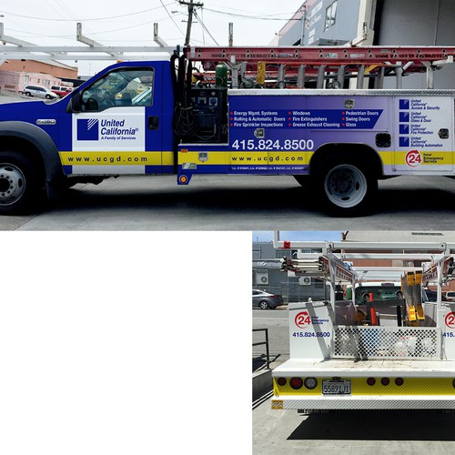 United California Truck wrap