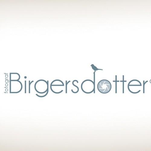 Photographer Logo Minimal style