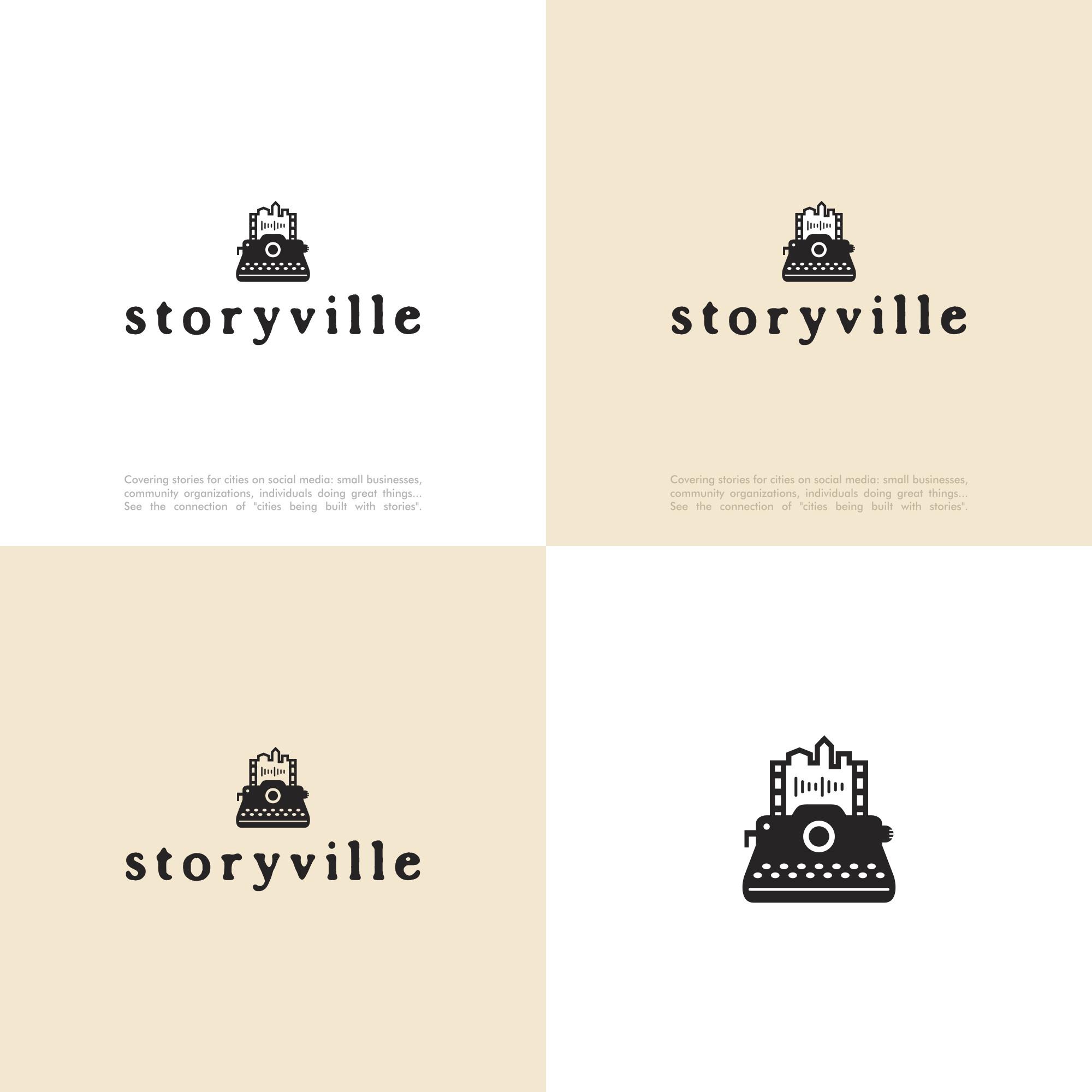 A logo for city-based storytelling