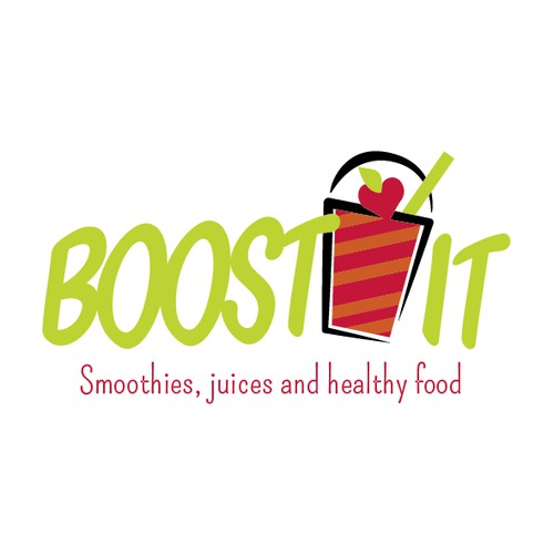 create a logo for a healthy drink brand