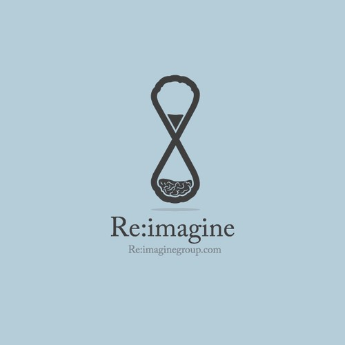 Logo for creative and innovative firm -- Re:imagine Group