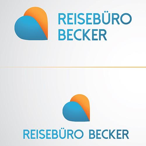 Ein Logo das zum Reisen und Träumen anregt