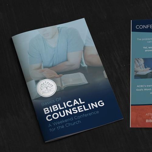 Basics Of Biblical Counseling Bi Fold Brochure Design