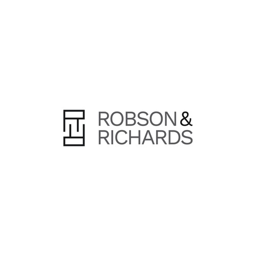 Logo concept for 'Robson & Richards'