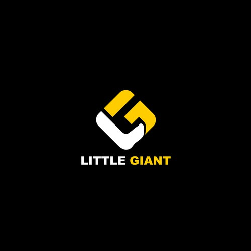 created little giant logo design