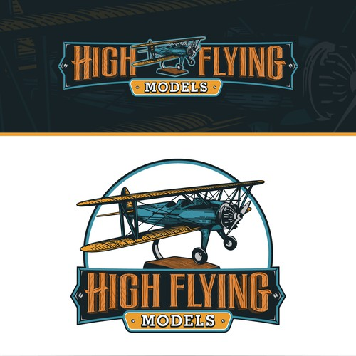 Logo concept for High Flying Models