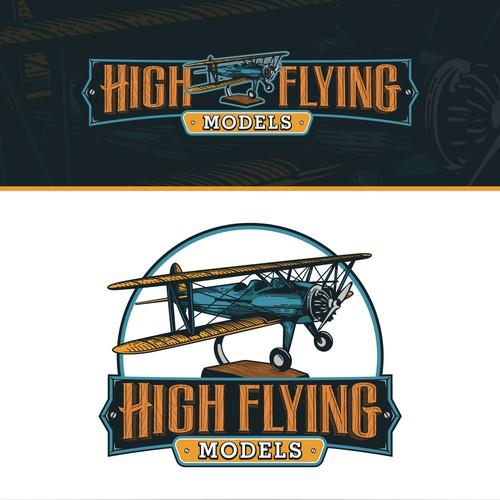 Logo concept for High Flying Models