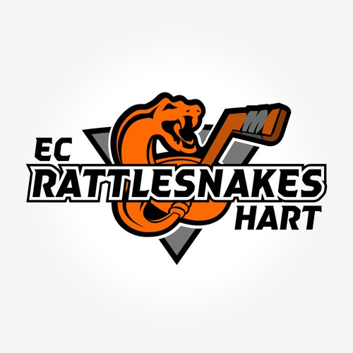 Logo concept Icehockey Team