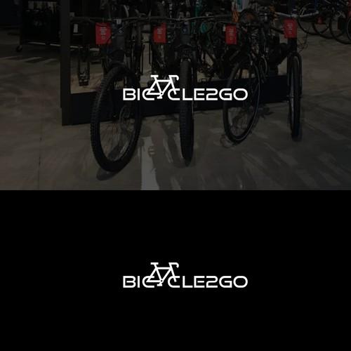 Bicycle2go concept logo