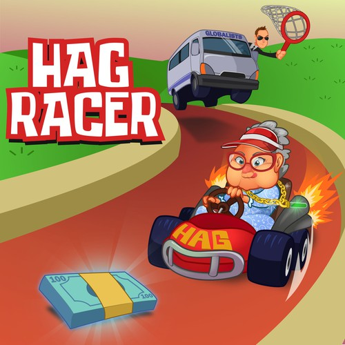 Hag Racer - game Illustration