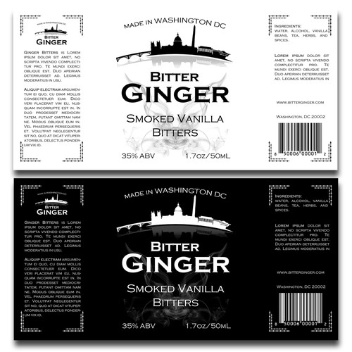 Label for bitter