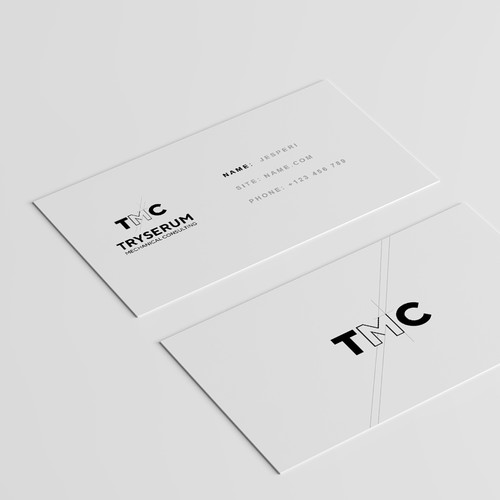 Logo and Business cards for BMC Conpany