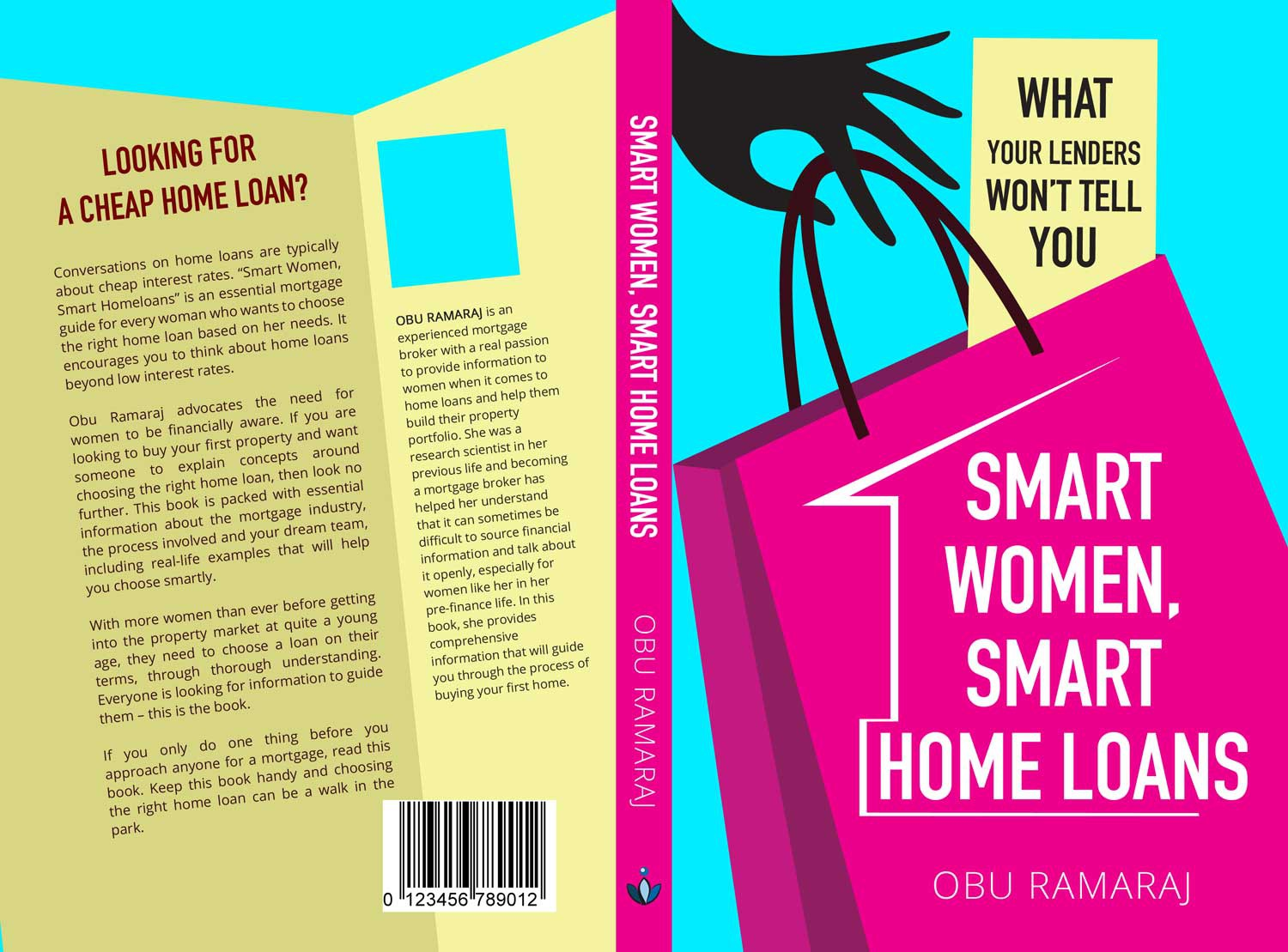 Looking for a stand out book cover for my first book on women and finance