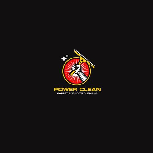 logo for powerclean