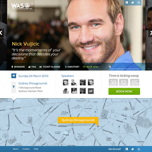 Help World Achievers Summit with an amazing website design