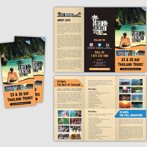 Need brochure for Thailand Tour