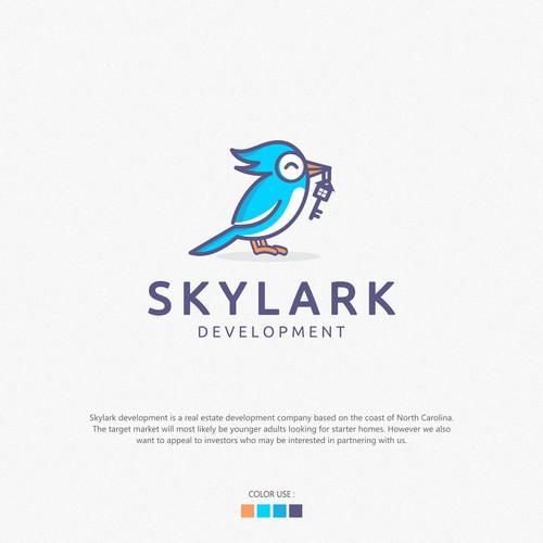 Logo design Skylark development