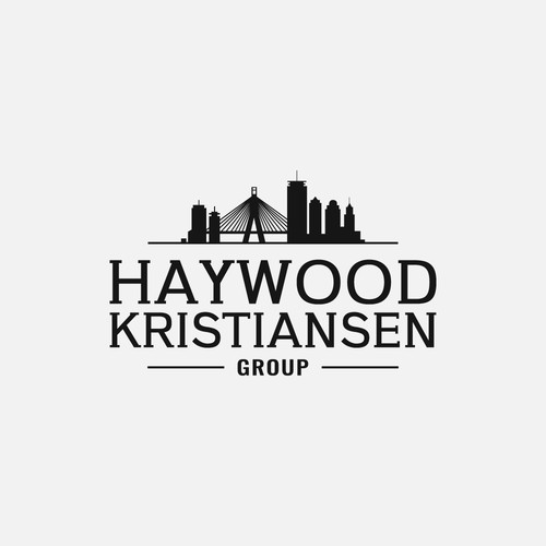 Sophisticated logo for The Haywood Kristiansen Group