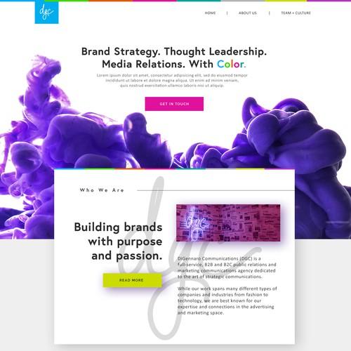 Digital Agency Web Design