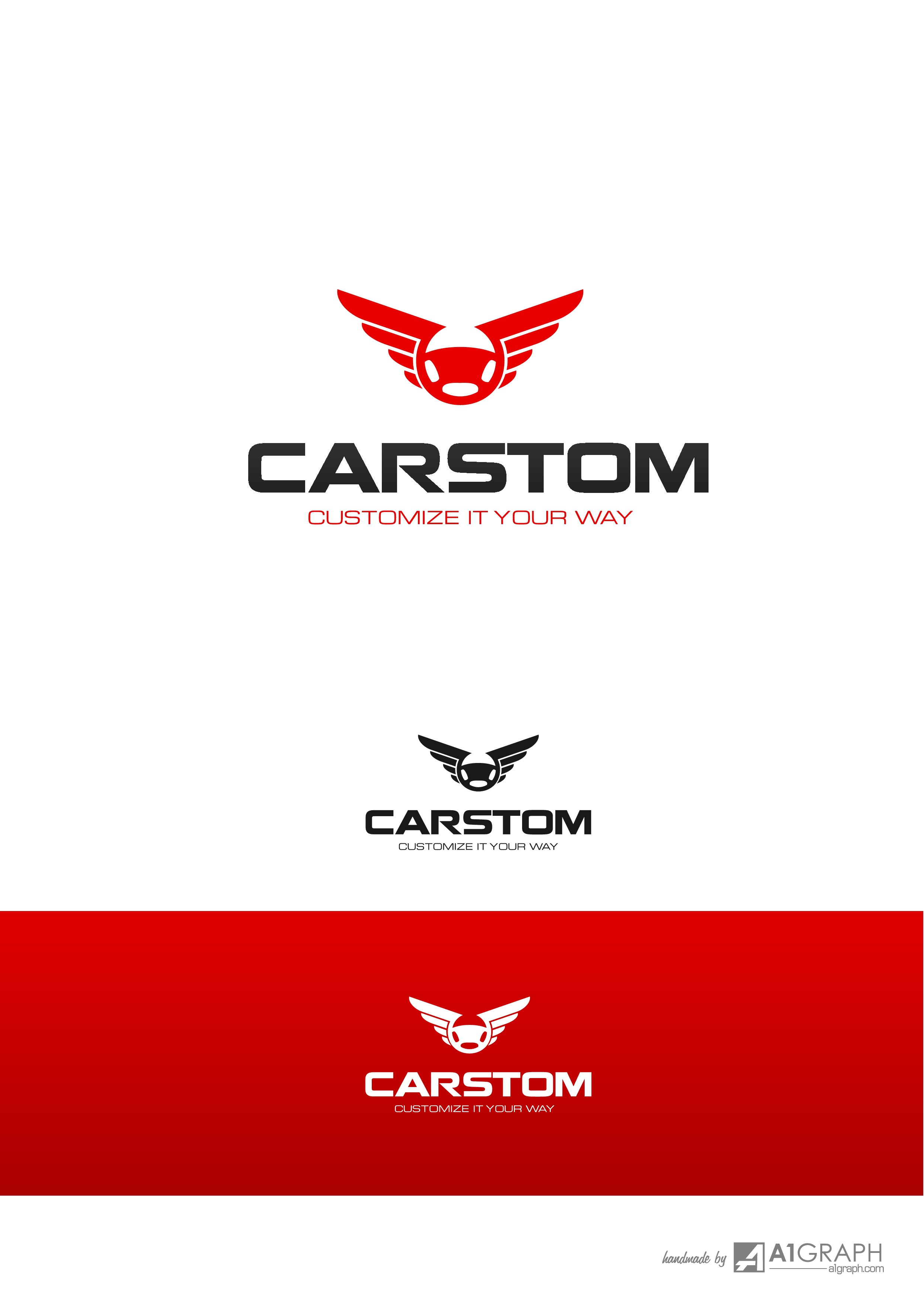 Please help me design an elegant and modern logo for a company specialized in car seat covers